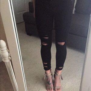 Pants - Beachin in black